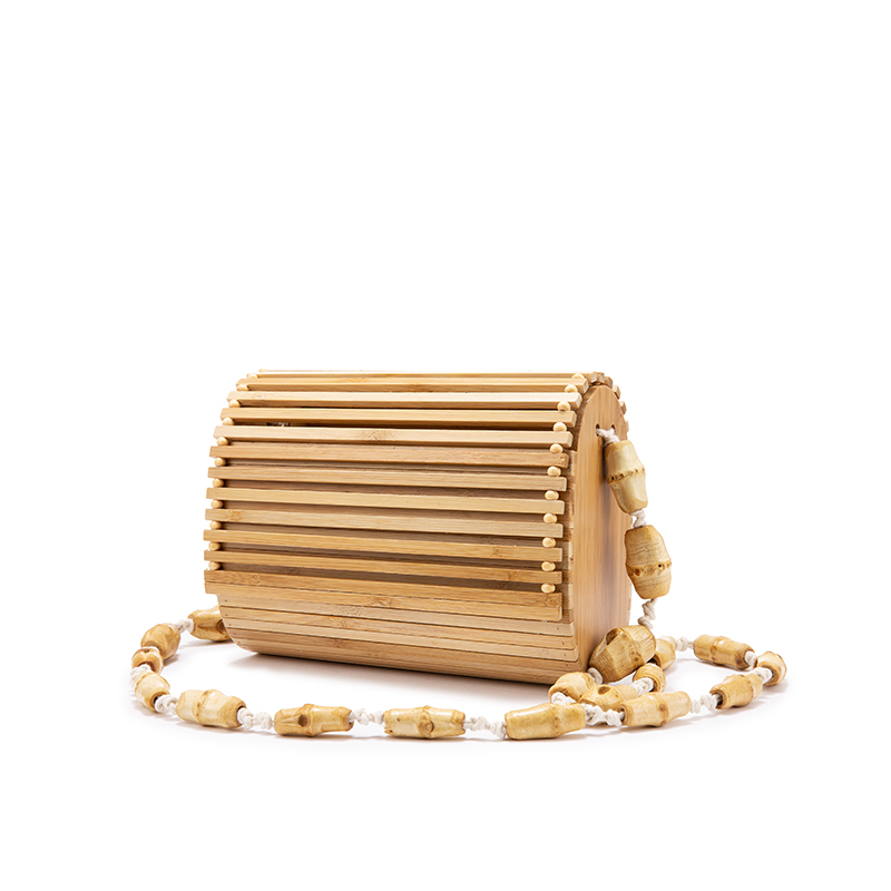 LOVEVOOK Bamboo Bag High Quality Bohemia Wood Fashion Crossbody Shoulder Bag Women Summer 2019 Beach Flap Ladies Messenger Bag