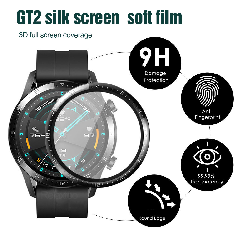 for Huawei watch GT2 46mm 42mm GT2e smart watch second generation curved full screen hot bending