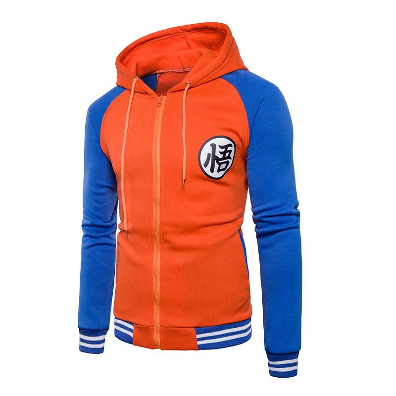 Hoodies Mens 2019 Autumn Hoody Men Dragon Ball Coat Casual Male Jacket Moleton Masculino Fashion Boy Hoodies Sweatshirt M-3XL