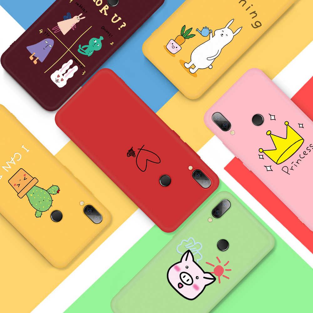 Caso Modelado Para Xiaomi Redmi CASPTM K20 7 6A 6 Pro Telefone Capa Para Nota Redmi 5 6 7 Pro suave TPU Silicone Protetor Caso Funda