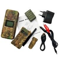 屋外デコイ狩猟鳥発信者 MP3 リモコン内蔵 150 鳥声でプレデター発信迷彩色 EU Plu|狩猟おとり|   -