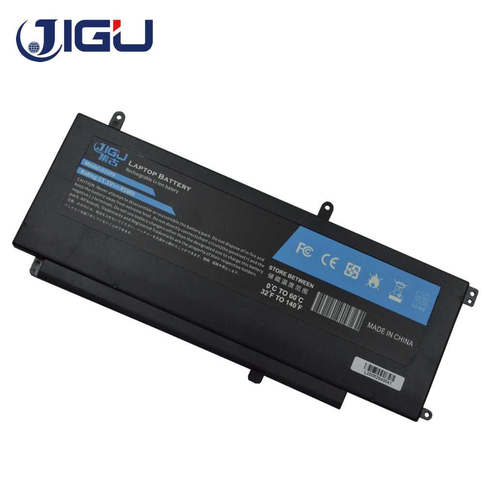 Аккумулятор для ноутбука JIGU PXR51, D2VF9, 0YGR2V, для DELL Inspiron 15, 7547, Inspiron 15, 7548, для VOSTRO 14, 5000