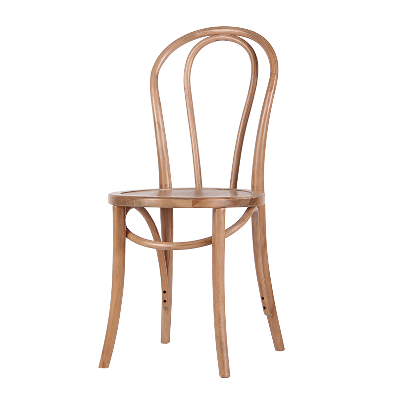 M8 Nordic Solid Wood Dining Chair Retro American  Casual Simple Restaurant Hotel   Cafe  2 From The Sale