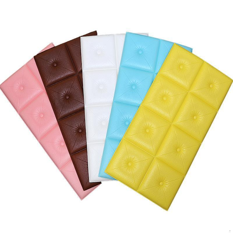 Chambre A Coucher Enfant Headboard Cushion Children Child 3D Wall Sticker Pared Tete Lit Bed Cabecero De Cama Head Board
