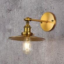 Sección lámpara de pared lámparas de decoración y linternas personalidad lámpara de pared de una sola sección, hierro forjado se puede ajustar