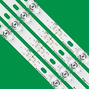 Image 3 - Novo kit 8 peças led strip substituição para lg lc420due 42lf652 42lb500 innotek drt 3.0 42 polegada a b 6916l 1710a 6916l 1709a 42lb620v