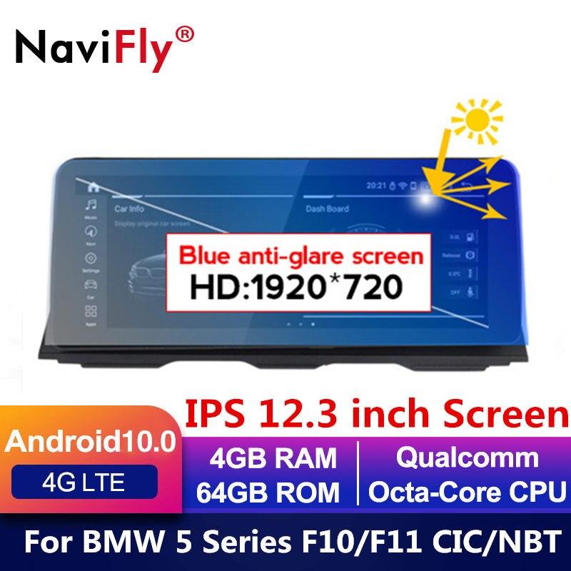 Европейский склад! 8 ядер Android 10 автомобильный dvd для BMW 5 серии F10 F11 2010-2016 CIC NBT Автомобильный GPS навигатор мультимедиа радио f10
