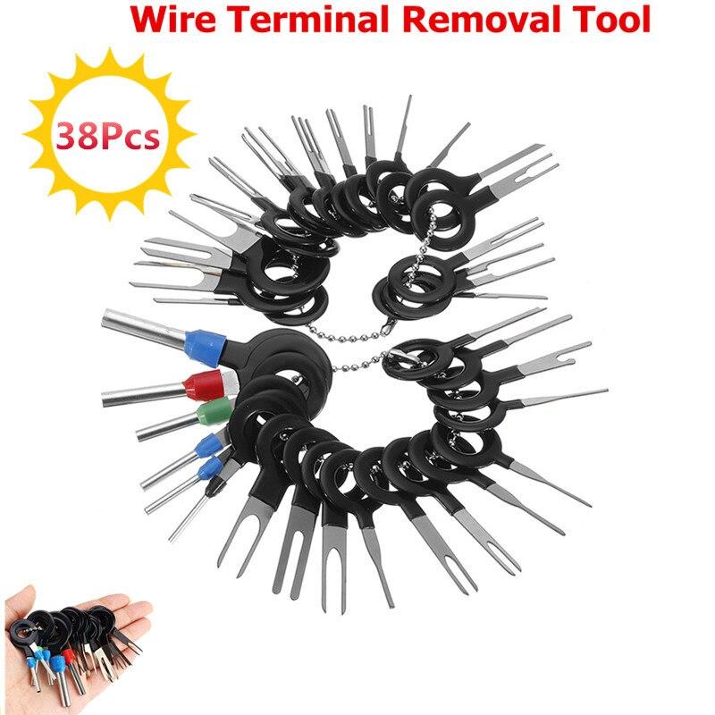 26Pcs 29Pcs 36Pcs Car Terminal Removal Tool Electrical Wiring Crimp Connector Pin Extractor Kit Automobiles Terminal Repair Hand