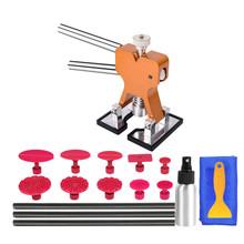 Narzędzia PDR Dent zestaw narzędzi do naprawy ściągacz podnośnik zakładki kleju Auto ciała narzędzia do naprawy narzędzia do usuwania narzędzia do naprawy samochodu tanie tanio WEYHAA Blachy Młotek Arkusz Metalowy Wspornik Stylus Gruba Łom Dzieła Łom Elastyczne Pliku Blachy Linijki Pneumatyczne Maszyna Ścierne