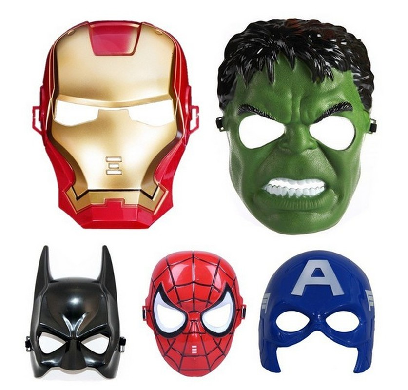 Halloween Iron Man Party Mask For Adult Empire Storm Clone Trooper Cosplay Soldiers Party Halloween Hulk Spiderman Mask For Kids