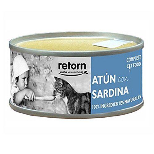 Retorn–Cibo Nero Per Gatti Adulti Atún Con Sardine 80gr