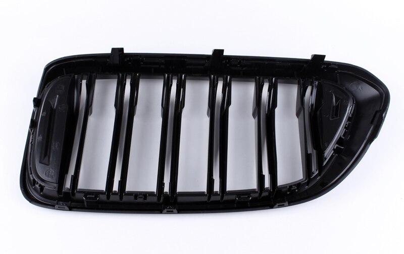 Dubbele Lijn Heldere Zwarte Drie Kleur Carbon Fiber Abs Nieren Voor Bmw G32 6GT - 6
