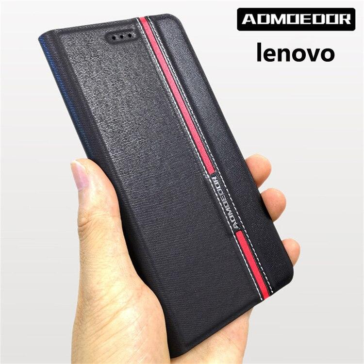 lenovo z5s a5 s5 k5 note 2018 play z6 pro s90 Case Leather flip cover for lenovo z6 lite back cases Wallet Style Stand