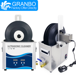 Image 5 - Granbo 6.5L 180W płyta winylowa ultradźwiękowa pięć kolorów wspornik ze stopu aluminium może podnoszenia dla Lp Album EP dyski czyszczenie