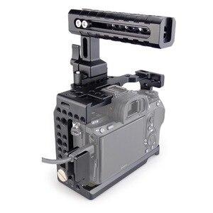 Image 5 - Magicrigデジタル一眼レフカメラnatoハンドル + hdmiケーブルクランプソニーA7RIII /A7III /A7SIIデジタル一眼レフケージ延長キット