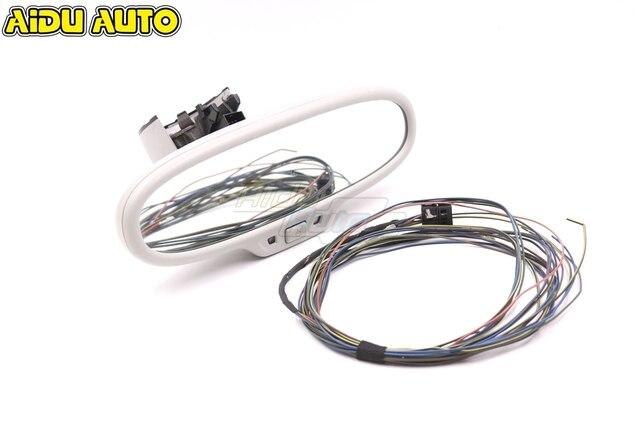 Anti glare ściemnianie lusterko wsteczne dla Audi A3 8V 8U0 857 511A