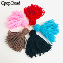 Cpop New Fashion Macrame Earrings Boho Cotton Thread Weaving Tassel Women Accessories Bridesmaid Jewelry Drop Shipping