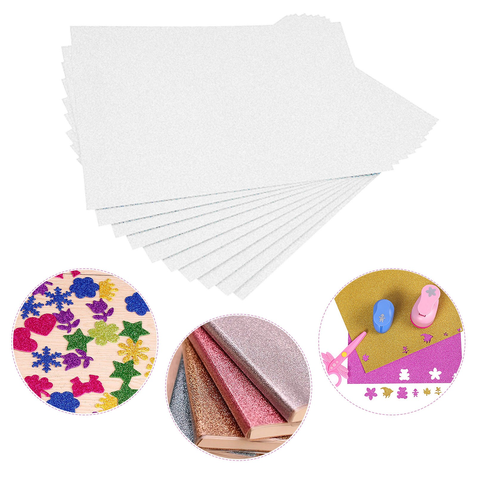 Flash Card Paper Flash Shiny Craft Paper Advanced A4 Flash Paper High-quality glitter card paper Shiny craft paper No Adhesive