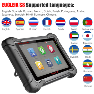 Image 4 - EUCLEIA S8 OBD2 Automotive Scanner ECU Programming and Coding Bluetooth WiFi Full System OBD Diagnostic OBDII Scan Tool