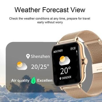 2021 Bluetooth-compatibleAnswer Call Smart Watch Women Men Full Touch Dial Call Fitness Tracker IP67 Waterproof Smartwatch women 3