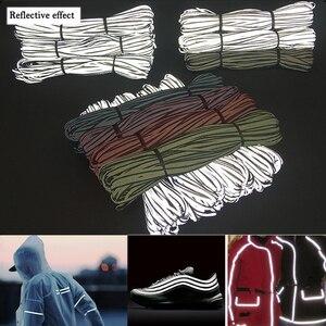 EN471 Bright silver Reflective Edge Strip Iridescence Reflective Garment Trim
