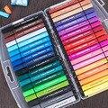 24/36 цветов  Детские акварельные кисти  набор ручек  детские инструменты для рисования  Моющийся Маркер для рисования