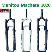 자전거 포크 Manitou Marvel Comp Machete 27.5 29er 에어 포크 사이즈 마운틴 MTB 자전거 포크 서스펜션 PK to SR SUNTOUR 2020
