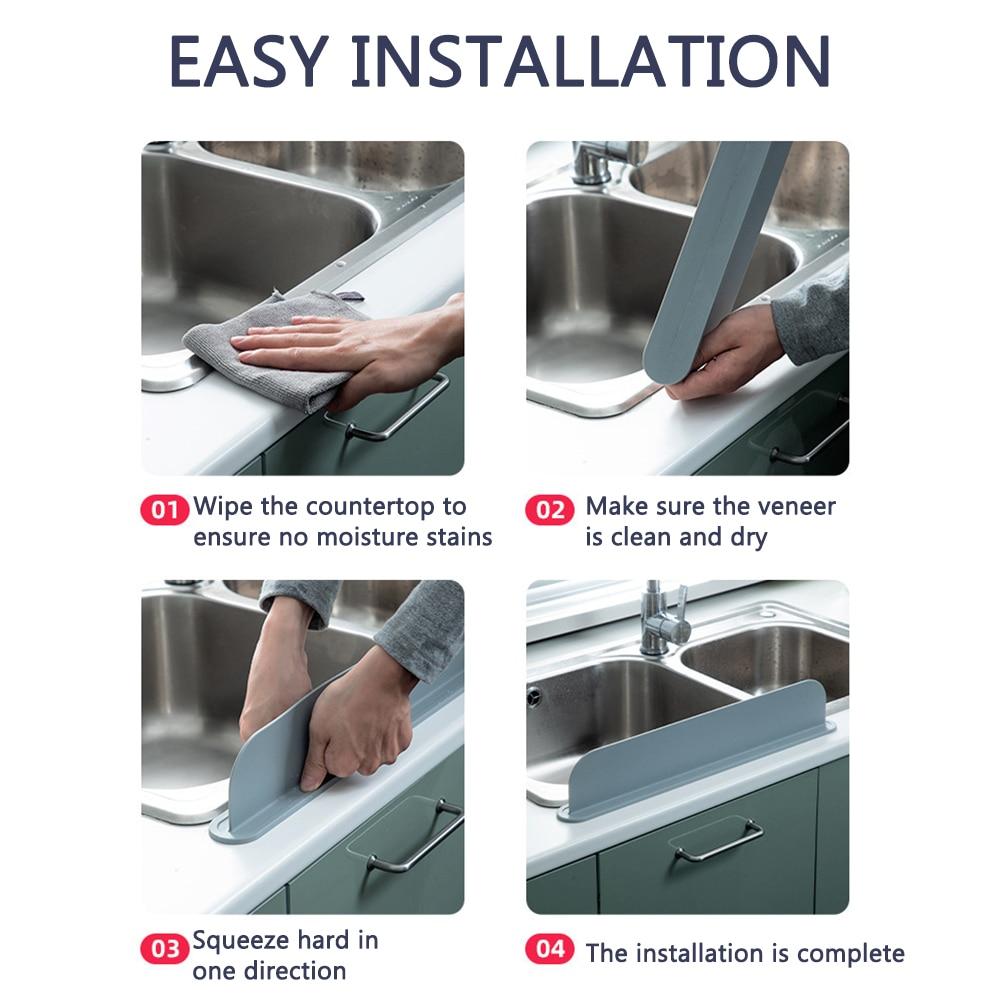 Dissipador de respingo guarda água splashproof casa
