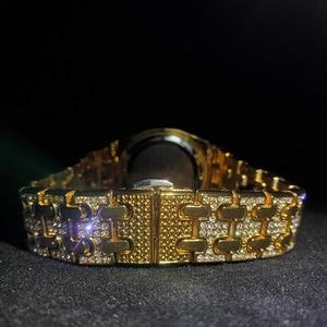 Image 4 - MISSFOX topos relógios femininos de luxo marca ouro bling diamante relógios femininos melhor venda senhoras à prova dwaterproof água relógio com caixa de presente