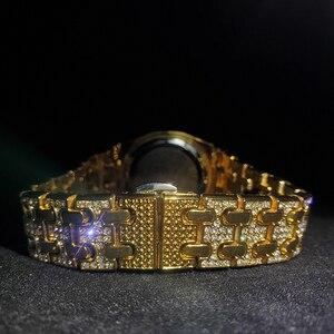 Image 4 - Missfoxトップス高級女性はブランドゴールドブリンブ女性の腕時計のベストセラー防水レディース腕時計ギフトボックス