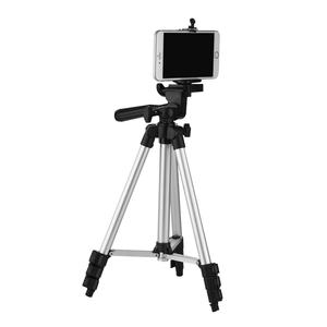 Image 3 - 4 Sections DSLR Camera Tripod Stand Mini Protable Tripod with Phone Mount Holder for LED Light Action Camera Mobile Phone Tripod