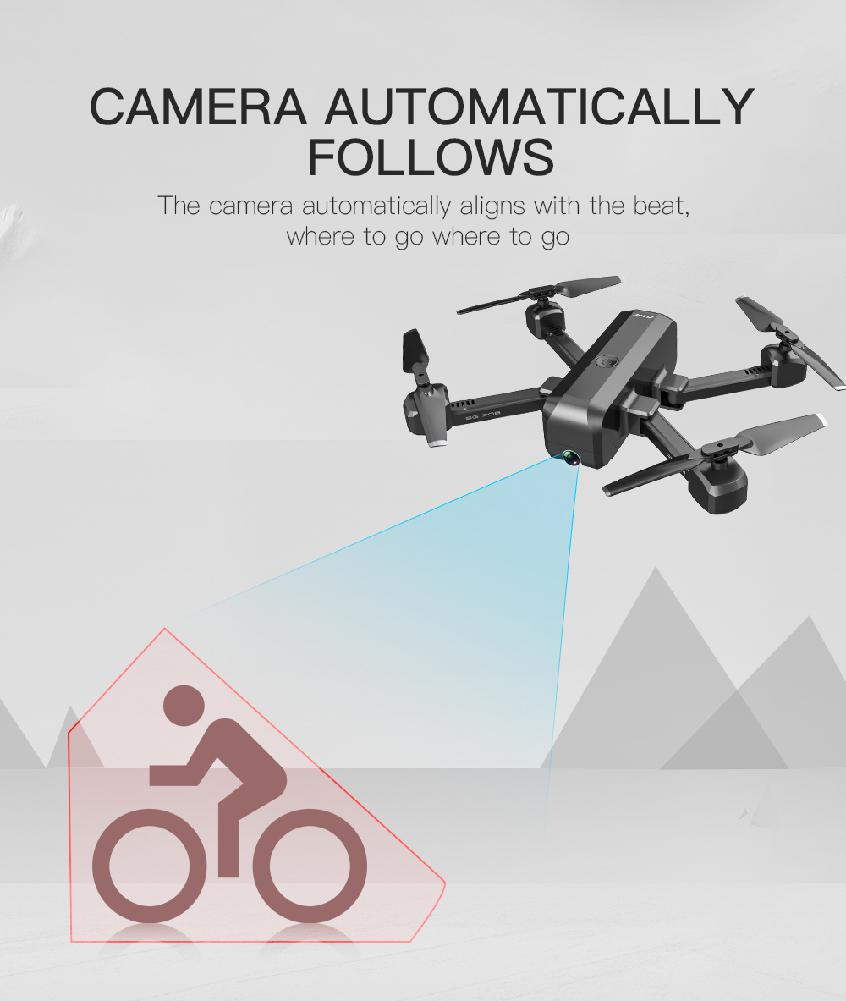 SG706 Foldable Quadcopter Helicopter Drone with 4K 1080P HD Dual Camera 27