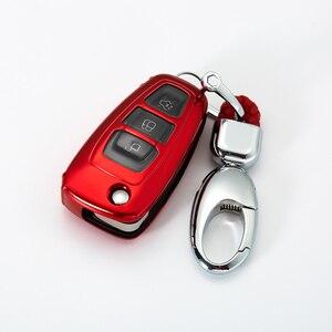 Полный Чехол новый мягкий TPU чехол для ключей автомобиля для Ford Ranger C-Max S-Max Focus Galaxy Mondeo Transit Tourneo Заказные Аксессуары для автомобилей