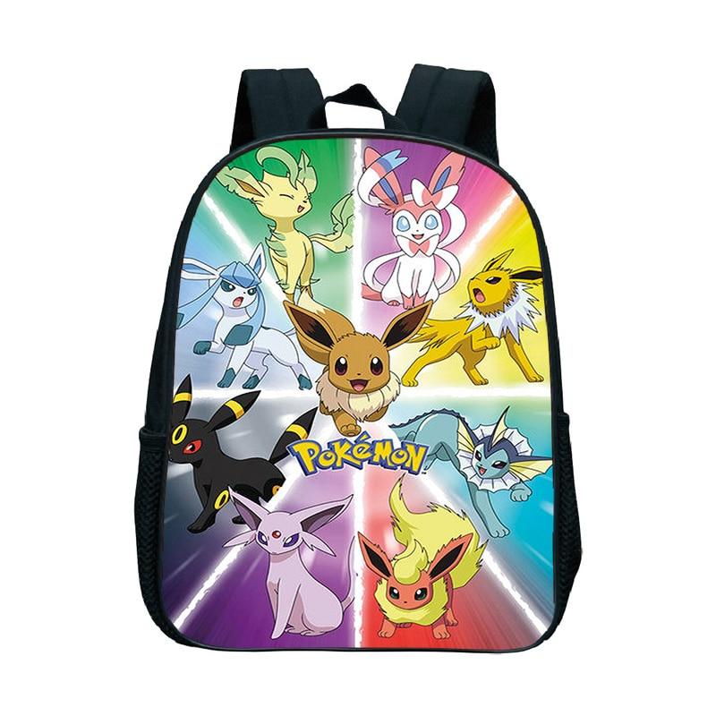 Eevee рюкзак, школьные сумки для мальчиков и девочек, Greninja, рюкзак для малышей, сумка для книг, детский сад, Mochilas