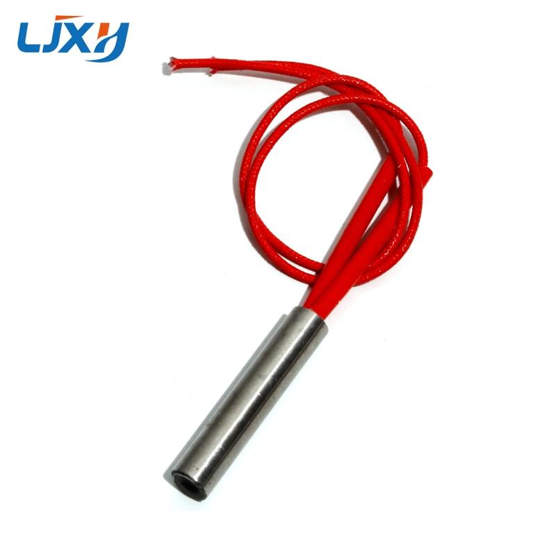 LJXH промышленные электрические картриджные нагреватели, диаметр 10 мм, переменный ток 110 В/220 В/380 В 30 мм/35 мм/40 мм/45 мм/50 мм Длина 75 Вт/90 Вт/100 Вт/110 ...