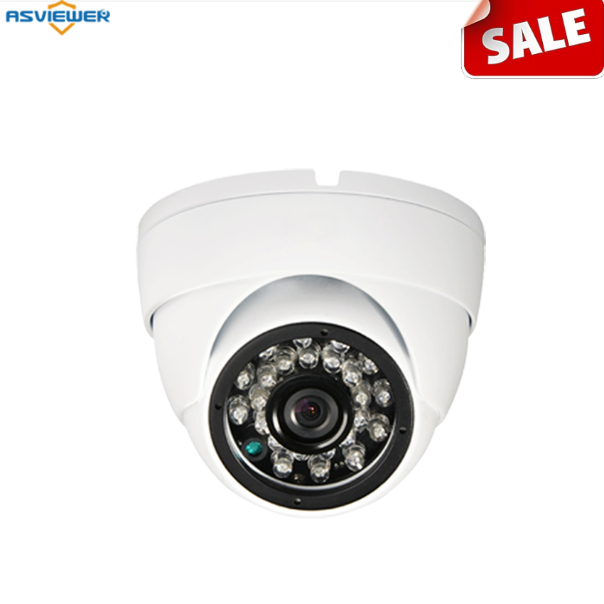 Sony Cmos Imx225 Ahd Camera With Ahd/cvbs Output With Fixed 3.6mm Lens Night Vision Support Osd Metal Ahd Dome AS-AHD2203S1