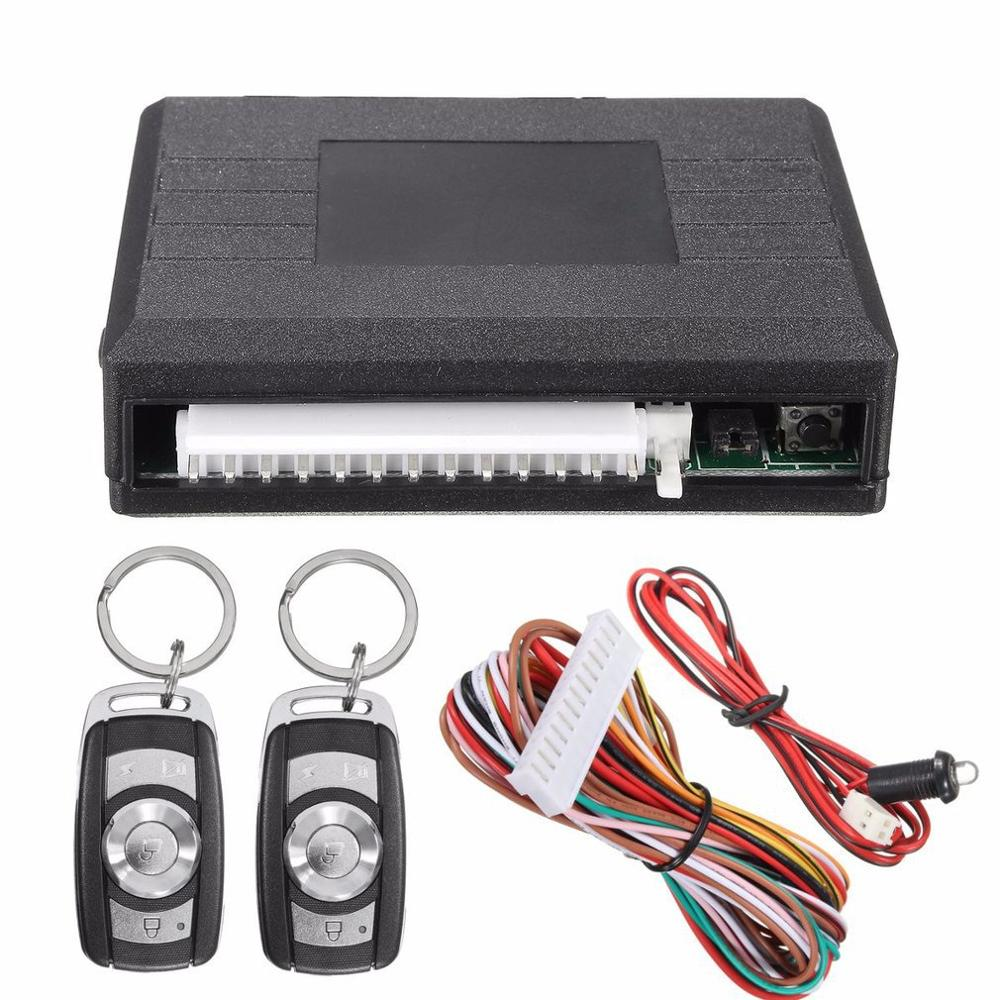 Universal Car Remote Control Central Electronic Accessories Anti-theft Kit Door Lock Keyless Entry Alarm System
