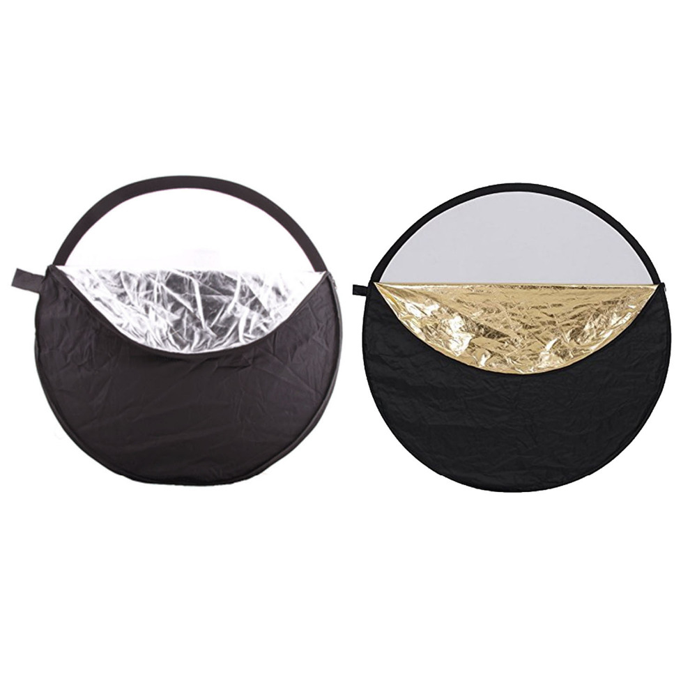 Image 2 - Gosear 5 in 1  60cm Round Collapsible Camera Lighting Photo Disc Reflector Diffuser Kit Carrying Case Photography Equipment-in Photo Studio Accessories from Consumer Electronics