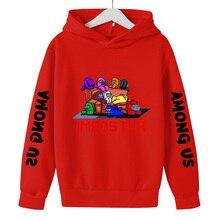 Hoodies Among Us Sweatshirt Video-Games Boys Clothes Funny Teens Impostor Girls Toddler
