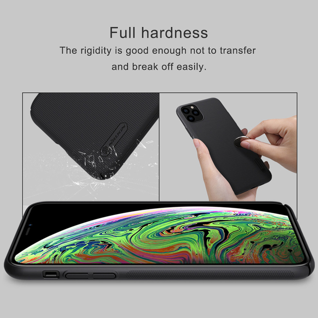 For iPhone 11 Pro Max Case Cover NILLKIN Fitted Cases For iPhone 11 Pro High Quality Super Frosted Shield For iPhone 11 5.8 inch 3