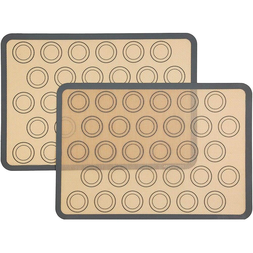 1 шт. силиконовая выпечка пирожных макарон коврик антипригарный силиконовый вкладыш противни для выпекания и прокатки для макаруна печенья