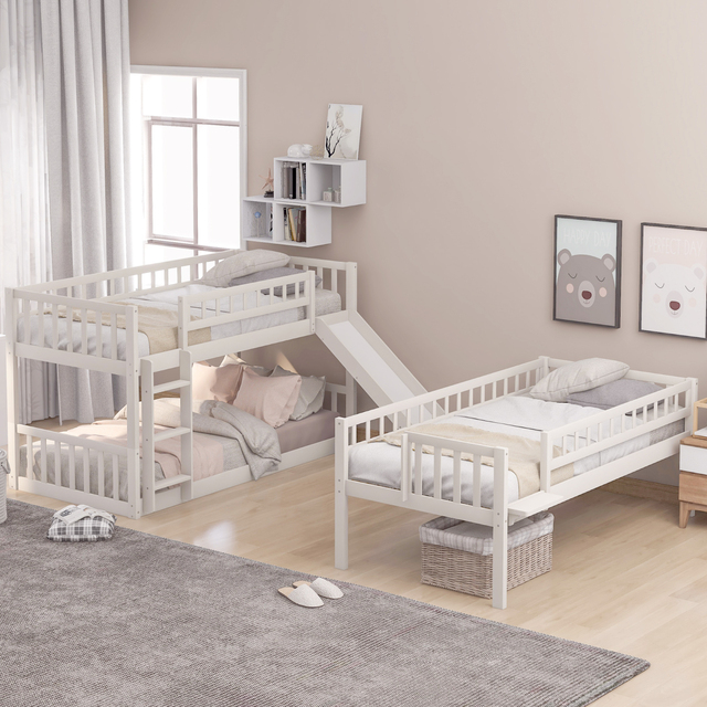 Triple Bunk Bed Twin-Over-Twin-Over-Twin  5
