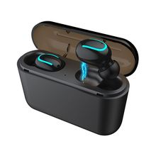One Pair Wireless Bluetooth Headsets Waterproof TWS Earbuds Sports Stereo Earphones