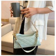 Однотонная дамская сумочка через плечо с рисунком венге модная