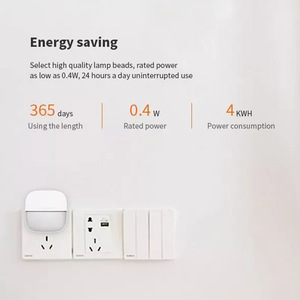 Image 3 - Yeelight YLYD09YL Square Light controlled smart Sensor Night Light Ultra Low Power Consumption For xiaomi mijia MI home