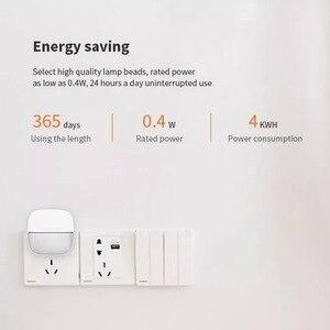 Image 3 - Yeelight YLYD09YL carré lumière contrôlée capteur intelligent veilleuse Ultra faible consommation dénergie pour xiaomi mijia MI maison