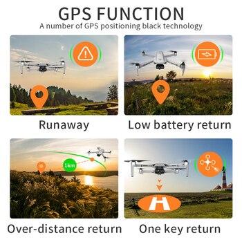 2021 New KF102 Drone 8k Brushless Motor 6K HD Camera GPS Professional Image Transmission Foldable Quadcopter VS SG906 MAX KF101 6