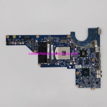 Genuine 650199-001 DA0R13MB6E0 REV:E w HD6470M GPU HM65 Laptop Motherboard Mainboard for HP Pavilion G4 G6 G7 Series Notebook PC genuine 683029 001 683029 501 683029 601 da0r53mb6e1 laptop motherboard mainboard for hp g4 g6 g7 g7z g6 2000 series notebook pc