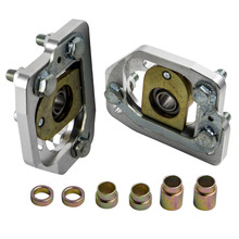 Caster-Plates-Kit Camber Aluminum for Ford-Mustang Adjustable Fit-90-93 Front /-2.0