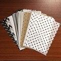 100 листов/пакет, оберточная бумага формата А5, s, ретро, многоцветная печать, салфетка, Закладка, бумага для упаковки подарков, Цветочный Подар...